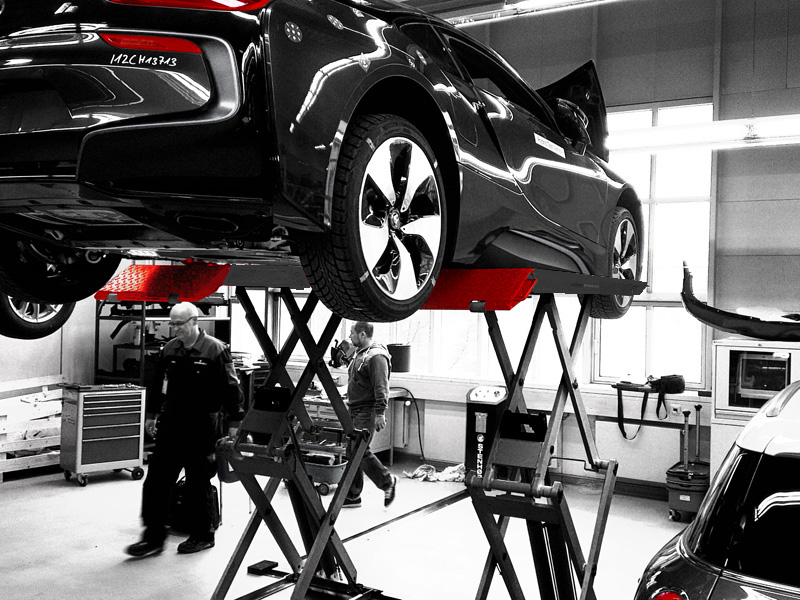 Surface-mounted lifts